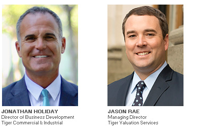 Photos of Jonathan Holiday and Jason Rae of Tiger Valuation Services