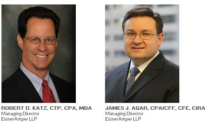 Photos of Robert D. Katz and James J. Agar - Managing Directors at EisnerAmper LLP