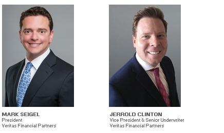 Photos of Mark Seigel and Jerrold Clinton of Veritas Financial Partners