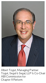 Photo of Albert Togut - Managing Partner - ABI Commission for Chapter 11 Reform