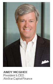 Photo of Andy McGhee - President & CEO - AloStar Capital Finance