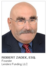 Photo of Robert Zadek Esq. - Founder - Lenders Funding LLC