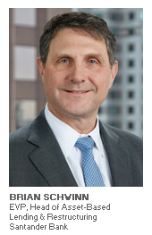 Photo of Brian Schwinn - EVP, Head of Asset-Based Lending & Restructuring - Santander Bank
