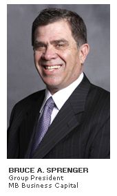 Photo of Bruce A. Sprenger - Group President - MB Business Capital