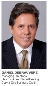 Photo of Daniel deBrauwere - Managing Director & Head of Asset-Based Lending - Capital One Business Credit