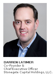 Photo of Darren Latimer - Co-Founder & Chief Executive Officer - Stonegate Capital Holdings, LLC.