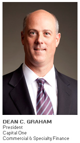 Photo of Dean Graham - President - Capital One Commercial and Specialty Finance