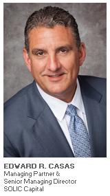 Photo of Edward Casas - Managing Partner & Senior Managing Director - SOLIC Capital