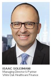Photo of Isaac Soleimani - Managing Director & Partner - White Oak Healthcare Finance