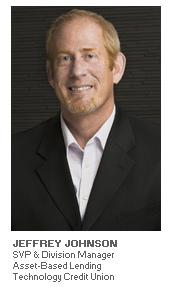 Photo of Jeffrey Johnson - SVP & Division Manager, Asset-Based Lending - Technology Credit Union