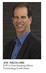 Photo of Joe Anzalone - EVP & Chief Banking Officer - Technology Credit Union