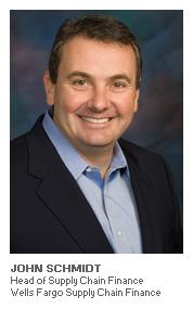 Photo of John Schmidt – Head of Supply Chain Finance, Wells Fargo Supply Chain Finance