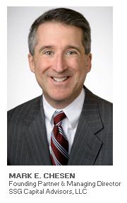 Photo of Mark E. Chesen - Founding Partner & Managing Director - SSG Capital Advisors, LLC