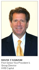 Photo of Mark Fagnani - First Senior Vice President & Group Director - HVB Capital