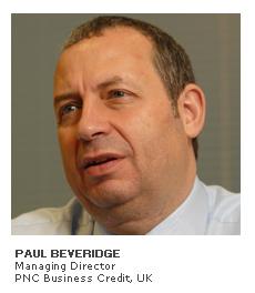 Photo of Paul Beveridge - Managing Director - PNC Business Credit, UK