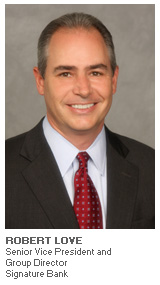 Photo of Robert Love - Senior Vice President and Group Director - Signature Bank