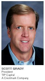 Photo of Scott Grady - President - TIP Capital - A Crestmark Company