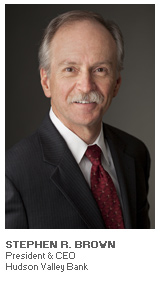 Photo of Stephen R. Brown - President & CEO - Hudson Valley Bank