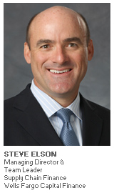 Photo of Steve Elson - Managing Director and Team Leader Supply Chain Finance - Wells Fargo Capital Finance