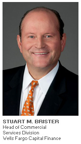 Photo of Stuart Brister - President - Commercial Services Division at Wells Fargo Capital Finance