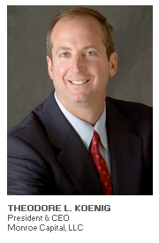 Photo of Theodore L. Koenig - President & CEO - Monroe Capital, LLC