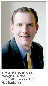 Photo of Timothy Stute - Managing Director Financial Institutions Group - Houlihan Lokey