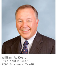 Photo of William A. Kosis - President & CEO - PNC Business Credit