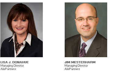 Photos of Lisa J. Donahue - Managing Director - AlixPartners and Jim Mesterharm - Managing Director - AlixPartners