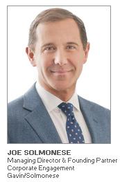 Photo of Joe Solmonese - Managing Director & Founding Partner - Gavin/Solmonese