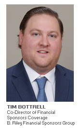 Photo of Tim Bottrell - Co-Director of Financial Sponsors Coverage - B. Riley Financial Sponsors Group
